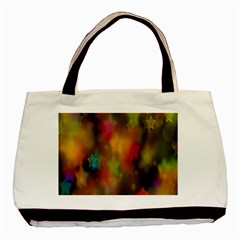 Star Background Texture Pattern Basic Tote Bag (Two Sides)