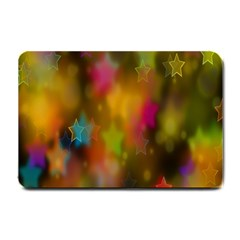 Star Background Texture Pattern Small Doormat