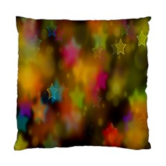 Star Background Texture Pattern Standard Cushion Case (Two Sides)