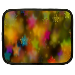 Star Background Texture Pattern Netbook Case (xl)