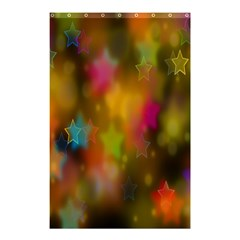Star Background Texture Pattern Shower Curtain 48  X 72  (small)