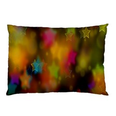 Star Background Texture Pattern Pillow Case (two Sides)