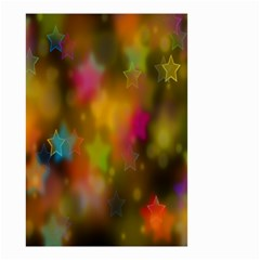 Star Background Texture Pattern Small Garden Flag (two Sides)