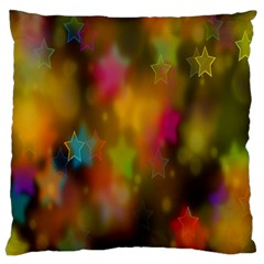 Star Background Texture Pattern Large Cushion Case (one Side)