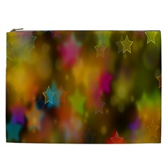 Star Background Texture Pattern Cosmetic Bag (xxl)