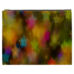 Star Background Texture Pattern Cosmetic Bag (xxxl)