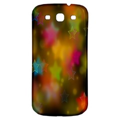 Star Background Texture Pattern Samsung Galaxy S3 S Iii Classic Hardshell Back Case