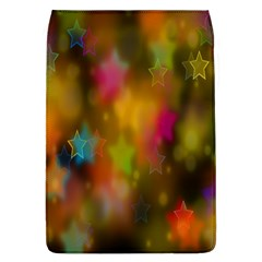 Star Background Texture Pattern Flap Covers (l)