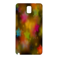 Star Background Texture Pattern Samsung Galaxy Note 3 N9005 Hardshell Back Case
