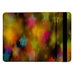 Star Background Texture Pattern Samsung Galaxy Tab Pro 12 2  Flip Case