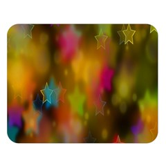 Star Background Texture Pattern Double Sided Flano Blanket (large)