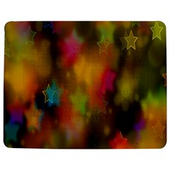 Star Background Texture Pattern Jigsaw Puzzle Photo Stand (Rectangular)