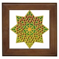 Star Pattern Tile Background Image Framed Tiles