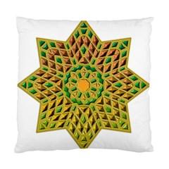 Star Pattern Tile Background Image Standard Cushion Case (one Side)
