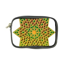 Star Pattern Tile Background Image Coin Purse