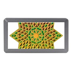 Star Pattern Tile Background Image Memory Card Reader (mini)