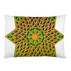 Star Pattern Tile Background Image Pillow Case (two Sides)