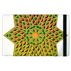 Star Pattern Tile Background Image Apple Ipad 3/4 Flip Case