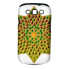 Star Pattern Tile Background Image Samsung Galaxy S Iii Classic Hardshell Case (pc+silicone)