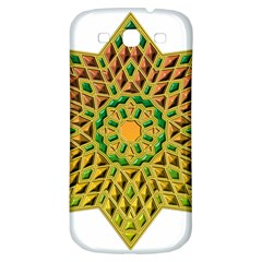 Star Pattern Tile Background Image Samsung Galaxy S3 S Iii Classic Hardshell Back Case