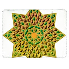 Star Pattern Tile Background Image Samsung Galaxy Tab 7  P1000 Flip Case