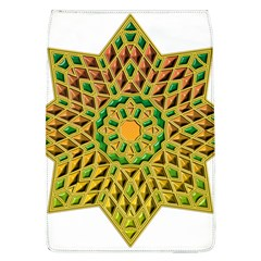 Star Pattern Tile Background Image Flap Covers (l)