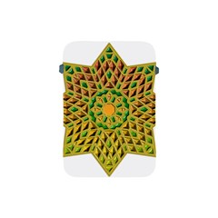 Star Pattern Tile Background Image Apple Ipad Mini Protective Soft Cases