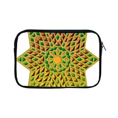 Star Pattern Tile Background Image Apple Ipad Mini Zipper Cases