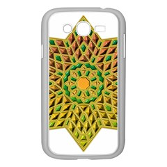 Star Pattern Tile Background Image Samsung Galaxy Grand Duos I9082 Case (white)