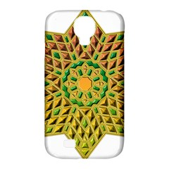 Star Pattern Tile Background Image Samsung Galaxy S4 Classic Hardshell Case (pc+silicone)