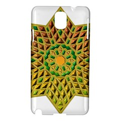 Star Pattern Tile Background Image Samsung Galaxy Note 3 N9005 Hardshell Case