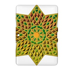 Star Pattern Tile Background Image Samsung Galaxy Tab 2 (10 1 ) P5100 Hardshell Case