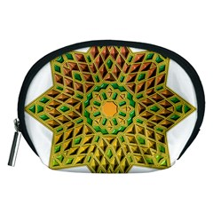 Star Pattern Tile Background Image Accessory Pouches (medium)