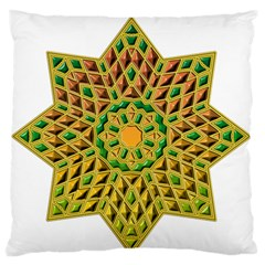 Star Pattern Tile Background Image Standard Flano Cushion Case (one Side)