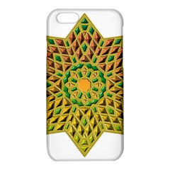 Star Pattern Tile Background Image iPhone 6/6S TPU Case