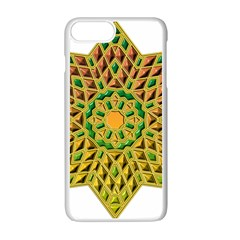 Star Pattern Tile Background Image Apple Iphone 7 Plus White Seamless Case