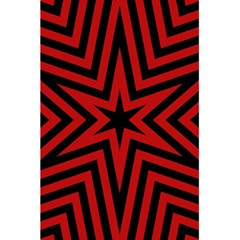 Star Red Kaleidoscope Pattern 5 5  X 8 5  Notebooks