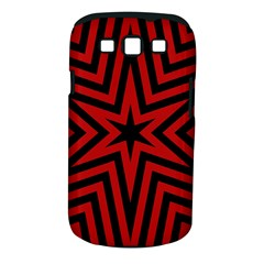 Star Red Kaleidoscope Pattern Samsung Galaxy S Iii Classic Hardshell Case (pc+silicone)