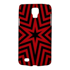 Star Red Kaleidoscope Pattern Galaxy S4 Active