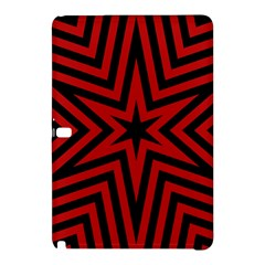 Star Red Kaleidoscope Pattern Samsung Galaxy Tab Pro 12 2 Hardshell Case