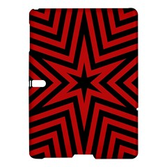 Star Red Kaleidoscope Pattern Samsung Galaxy Tab S (10 5 ) Hardshell Case