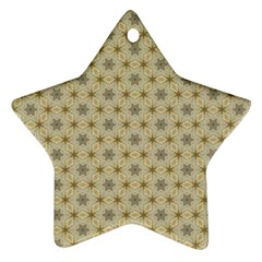 Star Basket Pattern Basket Pattern Ornament (star)