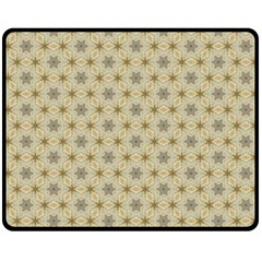 Star Basket Pattern Basket Pattern Fleece Blanket (medium)