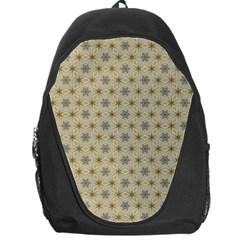 Star Basket Pattern Basket Pattern Backpack Bag