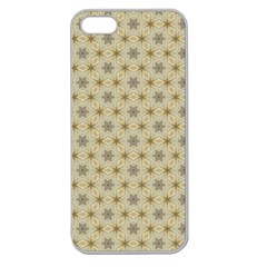 Star Basket Pattern Basket Pattern Apple Seamless Iphone 5 Case (clear)