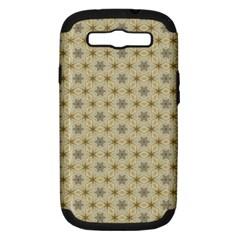 Star Basket Pattern Basket Pattern Samsung Galaxy S Iii Hardshell Case (pc+silicone)