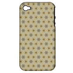 Star Basket Pattern Basket Pattern Apple Iphone 4/4s Hardshell Case (pc+silicone)