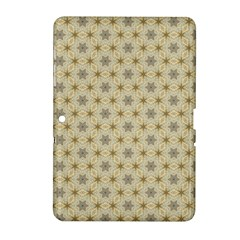 Star Basket Pattern Basket Pattern Samsung Galaxy Tab 2 (10 1 ) P5100 Hardshell Case