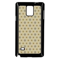 Star Basket Pattern Basket Pattern Samsung Galaxy Note 4 Case (Black)