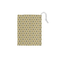 Star Basket Pattern Basket Pattern Drawstring Pouches (XS)